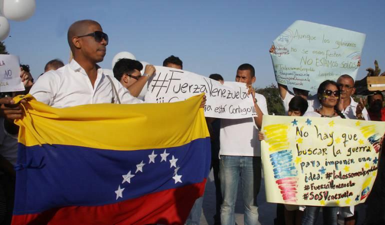Venezolanos en Colombia: Gobierno espera registrar en censo a más de 400.000 venezolanos