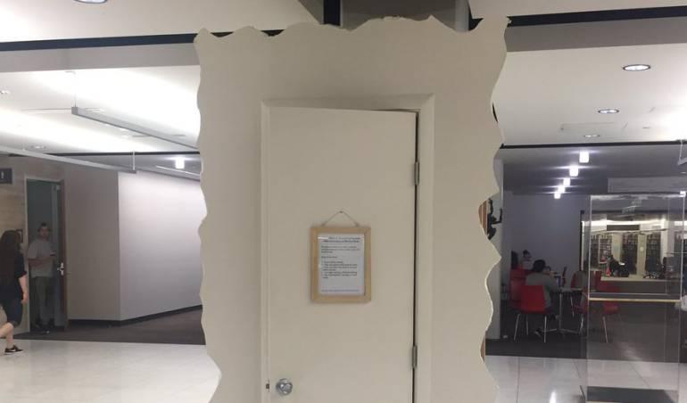Cuarto para llorar: Universidad instala cuarto para que sus alumnos lloren después de parciales