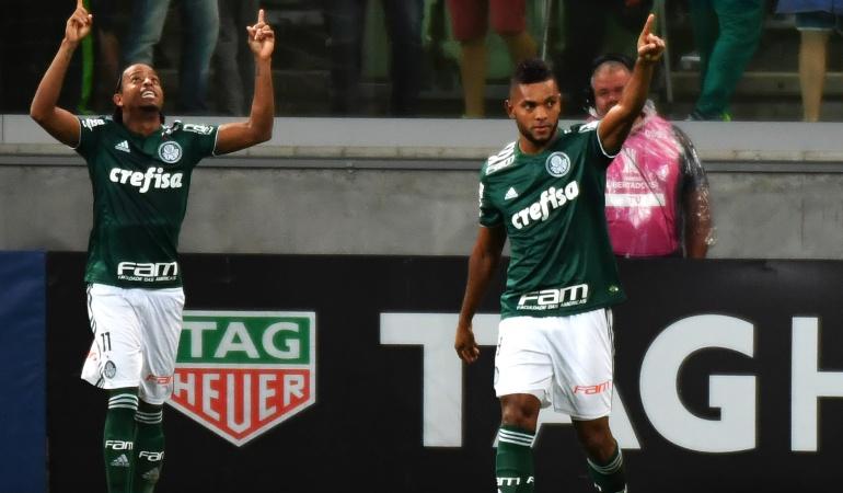 Miguel Ángel Borja: Miguel Borja anotó un gol en la victoria de Palmeiras ante Alianza Lima