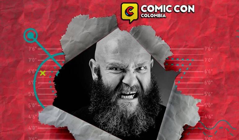 Comic Con Colombia: Helsinki, de La Casa de Papel, aterrizó en Bogotá