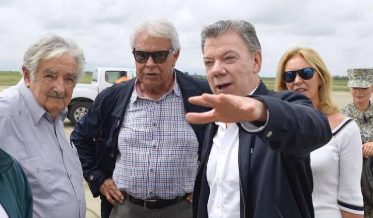 cumbre de paz en Cartagena: Mujica y González harán parte de la cumbre de seguimiento a acuerdos de paz