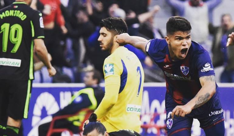 'Cucho' Hernandez Huesca: Con doblete del 'Cucho' Hernandez, Huesca ganó 4-2 al Córdoba