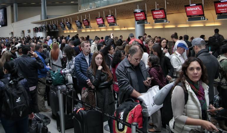 Polémica por cancelación de vuelos de avianca en Bogotá: Avianca canceló 8 vuelos desde y hacia Europa argumentando mal tiempo