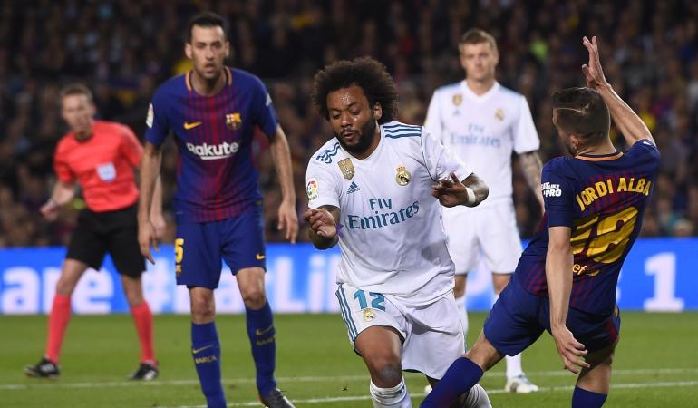 "Butragueño: ""Hubo falta sobre Varane y penalti a Marcelo"""