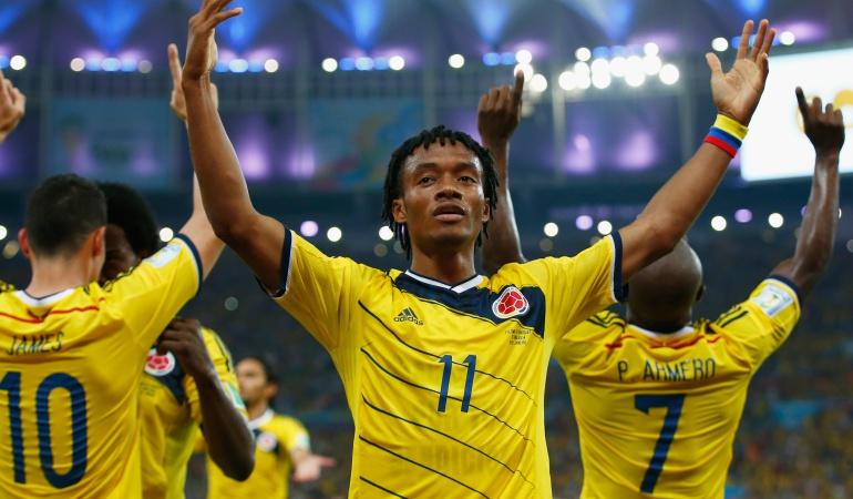 Juan Guillermo Cuadrado Selección Colombia: Espero que la Selección haga un mejor Mundial que en Brasil: Cuadrado