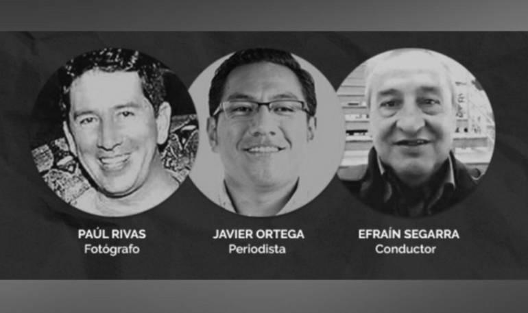 Periodistas ecuatorianos: Familia de periodistas ecuatorianos asesinados piden investigación de CIDH