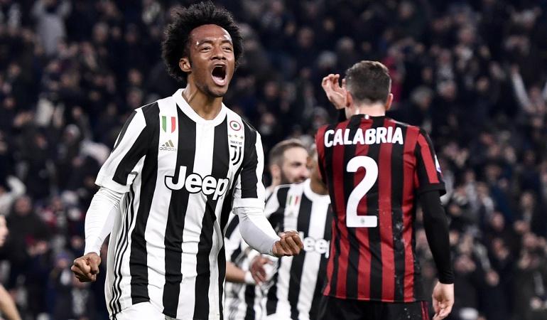 Final Copa Italia Juventus Milan: Juventus - Milan: duelo de colombianos en la final de la Copa Italia