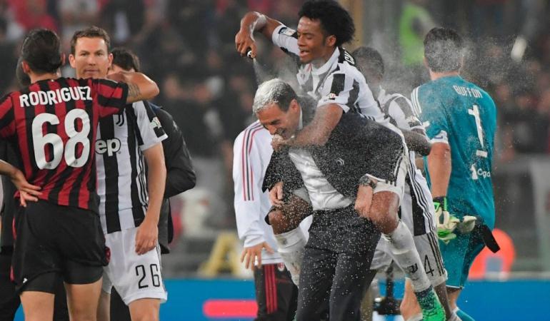 Cuadrado campeón Juventus Copa Italia: Cuadrado, 90 minutos y un nuevo título con la Juventus en la Copa Italia