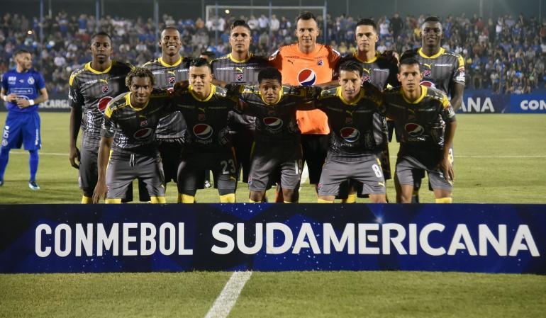 Independiente Medellín Copa Sudamericana: Medellín busca remontar ante su hinchada en la Sudamericana