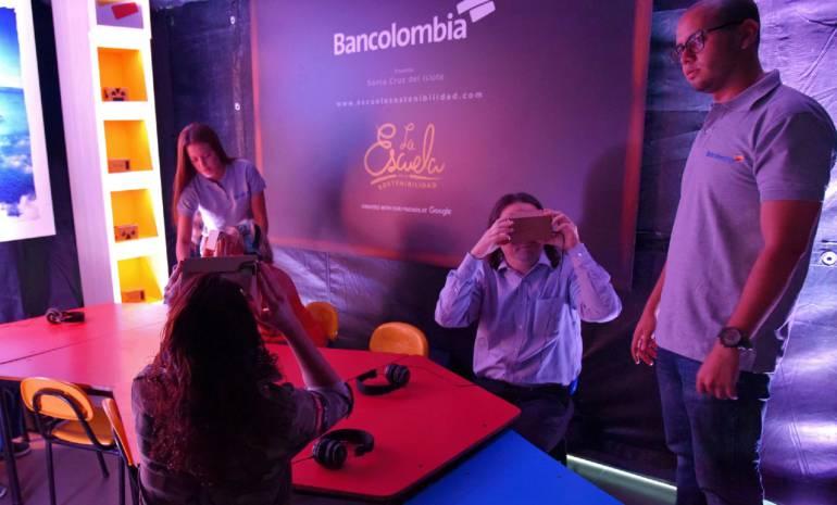 Bancolombia, Google: Realidad virtual, nueva fórmula para aprender sobre sostenibilidad