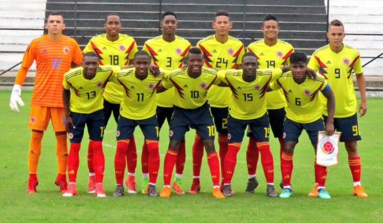 Selección Sub20 Uruguay Juegos Suramericanos: Selección Sub-20 venció a Uruguay en preparación para Juegos Suramericanos