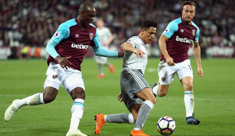 Manchester United West Ham: Manchester United empató con West Ham y aseguró el subcampeonato