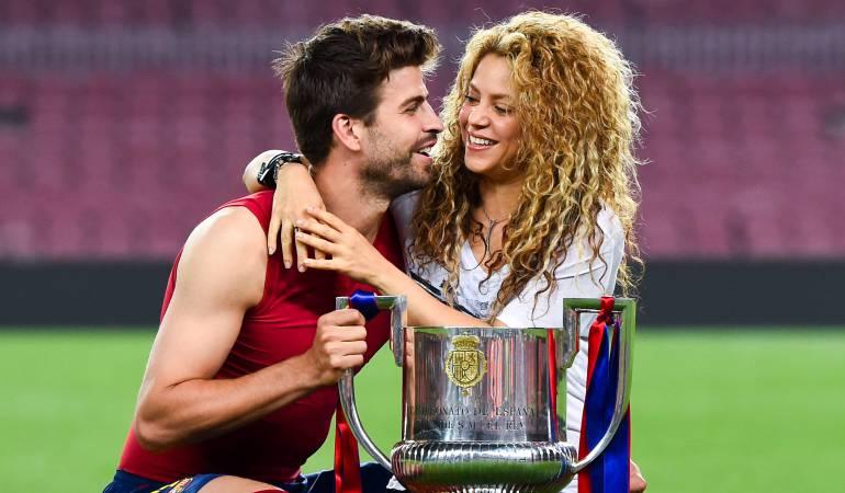 Pique y Shakira