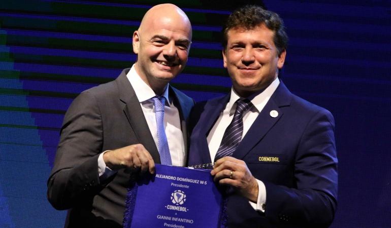 Mundial 2030 Argentina Paraguay Uruguay FIFA: Argentina, Paraguay y Uruguay pueden organizar un Mundial: Presidente FIFA