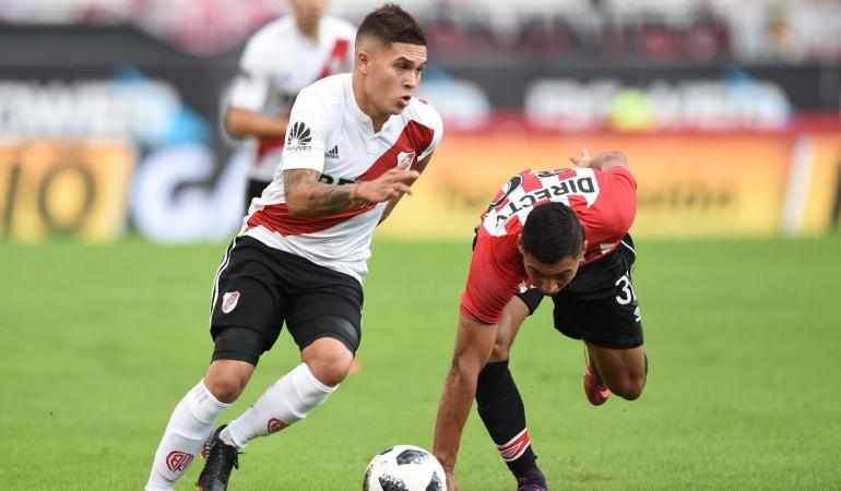 Quintero Mundial Selección Colombia River Plate: Quiero ir al Mundial y para eso estoy trabajando: Juan Fernando Quintero