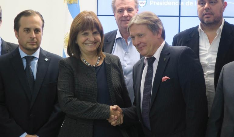 Mundial Rusia 2018 Argentina Rusia barras bravas: Argentina y Rusia firman convenio para evitar 'barras bravas' en el Mundial