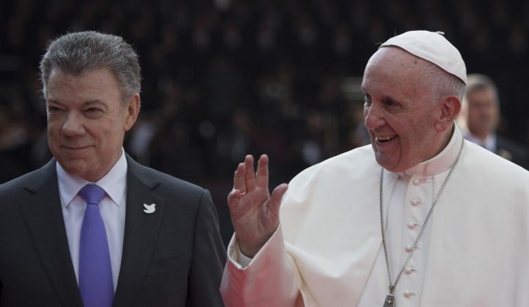 Papa y Santos se reunirán en Junio.: Santos y Francisco se reunirán el 28 de junio