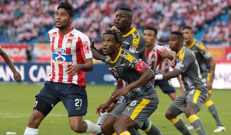 Junior Medellín cuartos de final Liga Águila: Medellín se hizo 'poderoso' en Barranquilla y se acerca a semifinales