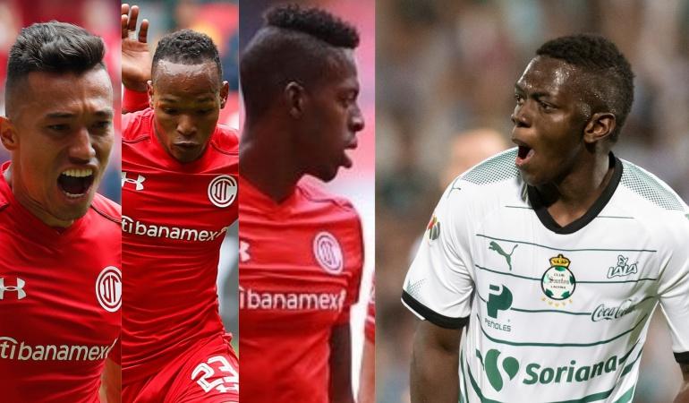Liga MX Toluca Santos: Con cuatro colombianos, Toluca y Santos jugarán la final de la Liga MX