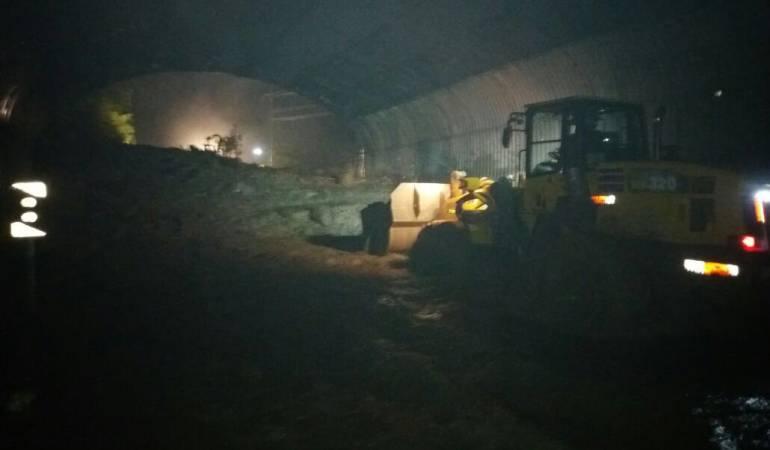 Vía Bogotá Villavicencio: Habilitan vía Bogotá Villavicencio tras derrumbes