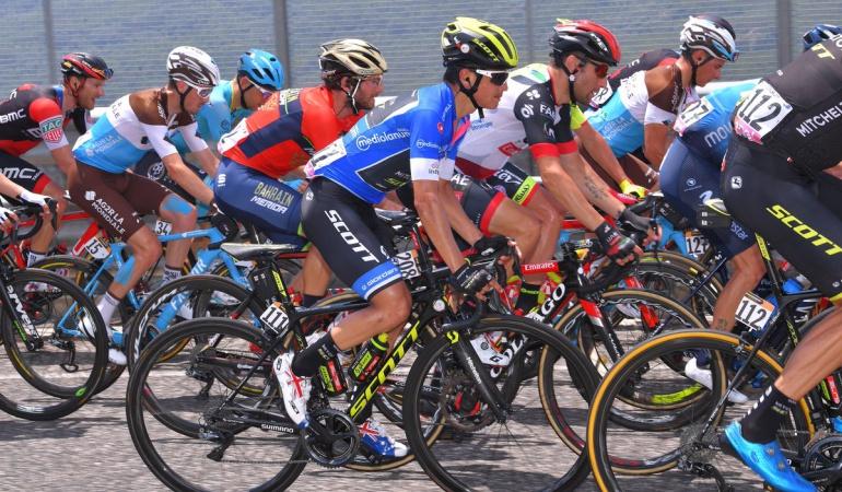 """Esteban Chaves: """"Así es el Giro, tengo una relación de amor y odio con Italia"""": Chaves"""