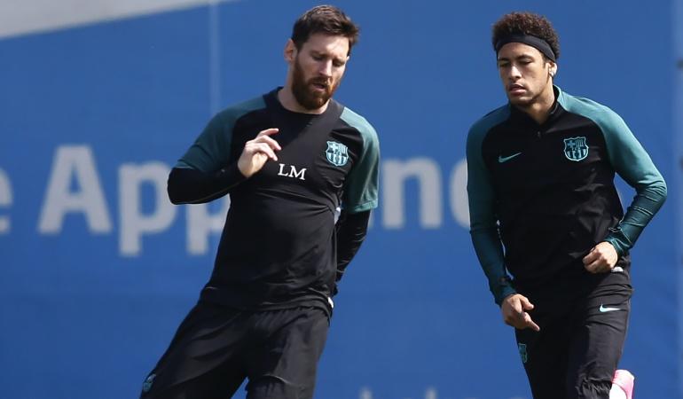 """Lionel Messi y Neymar: """"Ver a Neymar en el Madrid sería terrible, un golpe duro"""": Messi"""
