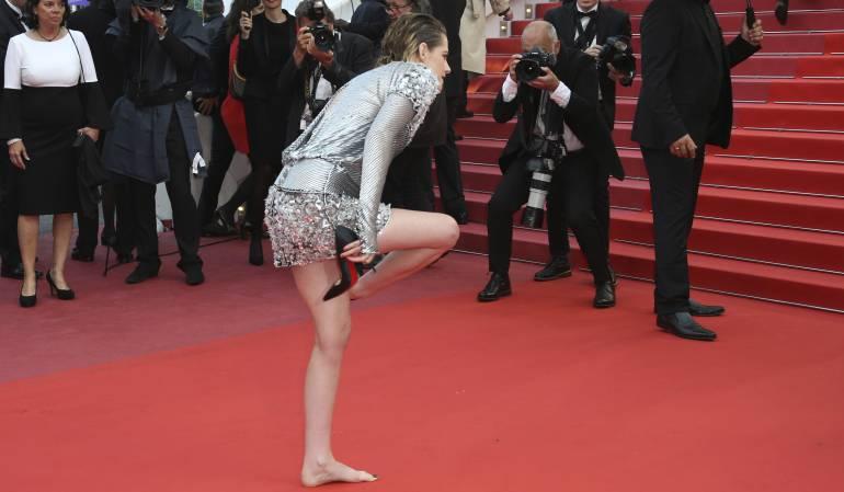 Festival de Cannes 2018: Kristen Stewart vuelve a rebelarse contra la etiqueta de Cannes