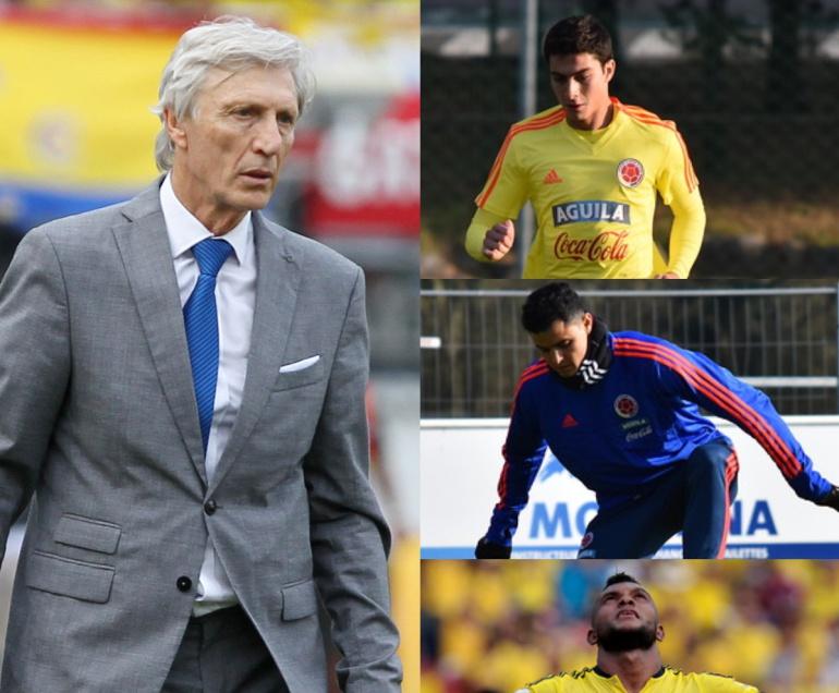 selección colombia rusia 2018: Si fuera Pékerman: ¿cuáles serían sus 12 descartados para el Mundial?