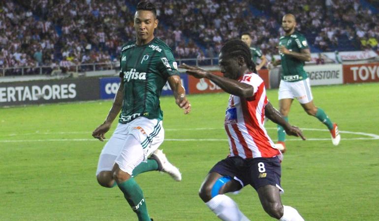 Palmeiras Junior Copa Libertadores: Junior, obligado a ganar en Brasil para avanzar a octavos de Libertadores