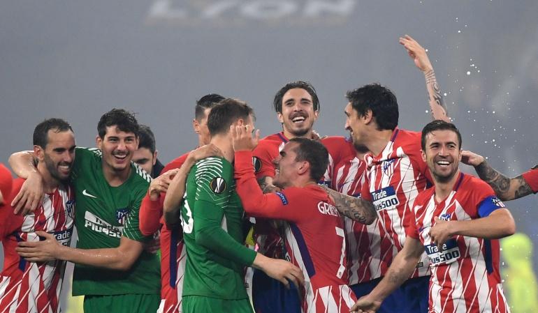 Atlético de Madrid campeon europa league: Atlético de Madrid se proclama campeón de la Europa League