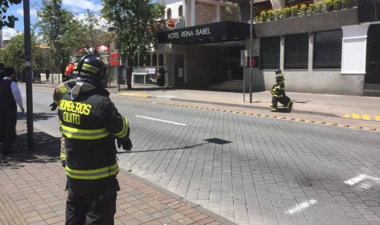 Atentados terroristas: Descartan amenaza de bomba en hotel de Quito