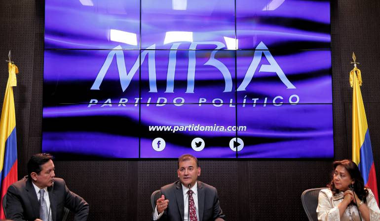 MIRA desautoriza apoyo a campaña de Vargas Lleras