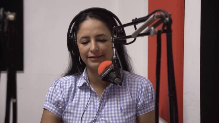 """Erica Londoño recibió el premio periodístico """"Orlando Sierra"""""""
