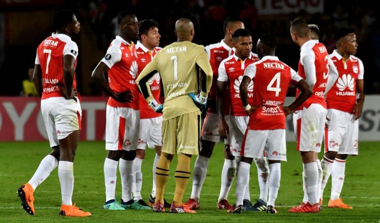 Santa Fe eliminado Copa Libertadores: Santa Fe, eliminado de la Copa Libertadores con victoria de Flamengo