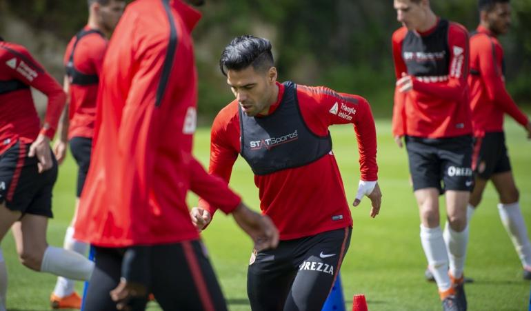 Jardim Falcao Mónaco: Jardim destacó recuperación y progreso físico de Falcao