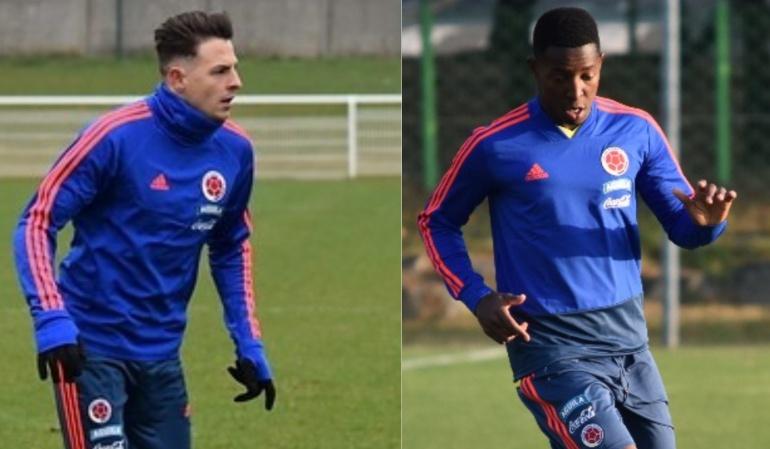 Arias y Murillo ya concentran con la Selección en Bogotá