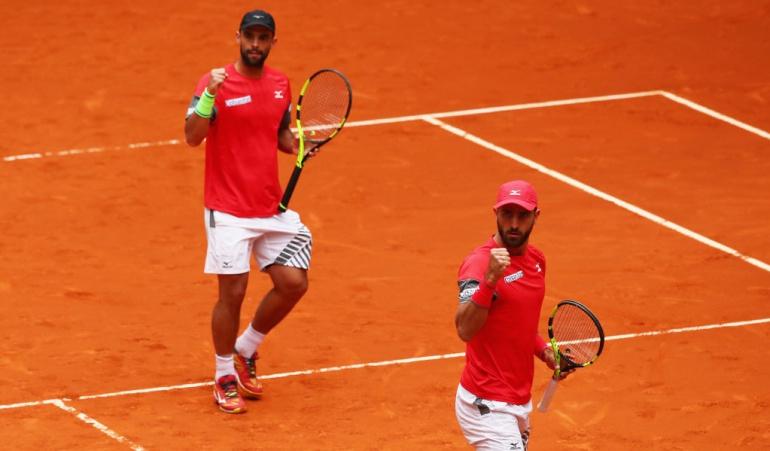 Cabal Farah Roma: Cabal y Farah debutan con victoria en Roma y se instalan en cuartos