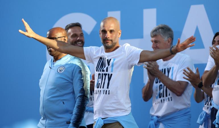 Guardiola: Josep Guardiola renovó contrato con el Manchester City hasta el 2021