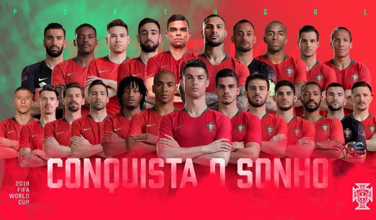 Selección Portugal: Cristiano comanda la lista de Portugal para el Mundial de Rusia