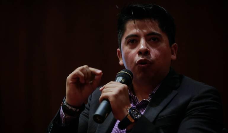 Ariel Ávila, subdirector de la Fundación Paz y Reconciliación.