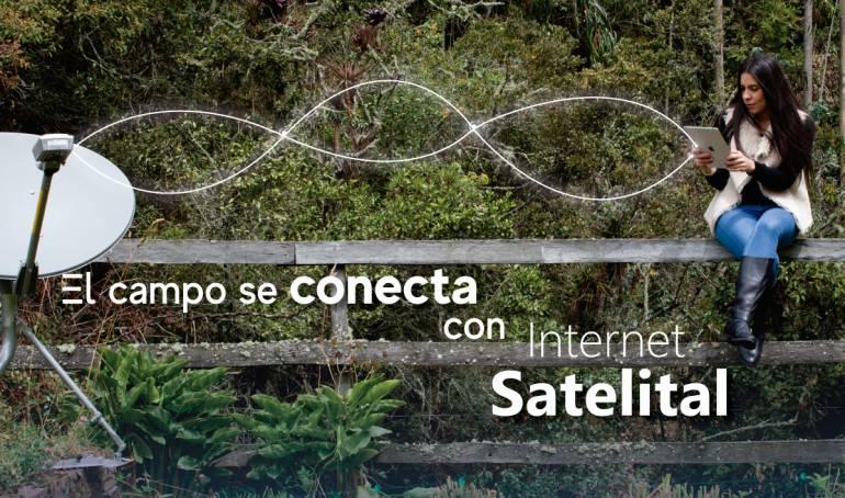 Internet rural: Empresa de Telecomunicaciones incrementa su presencia de Internet satelital