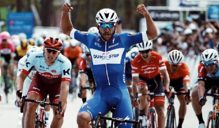 Fernando Gaviria: Fernando Gaviria se quedó con la quinta etapa del Tour de California