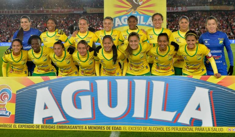 Liga Águila femenina: Huila tomó ventaja y Nacional e Independiente Santa Fe igualaron