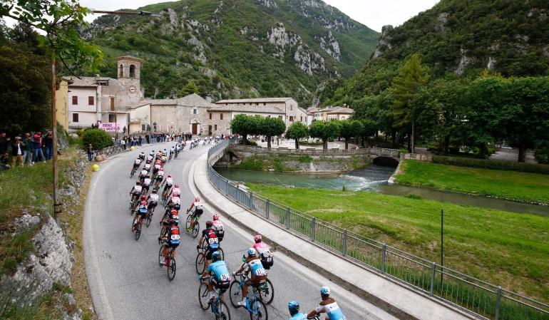 Etapa 13 Giro de Italia: Jornada de transición en la etapa 13 antes de la llegada a Los Alpes
