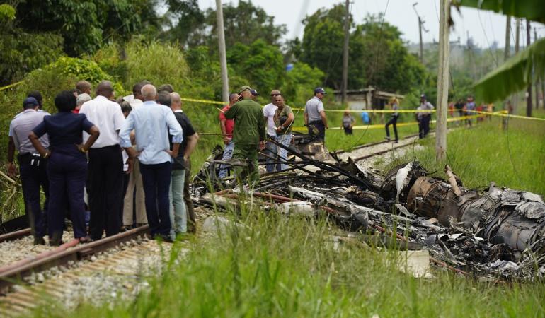 """Accidente aéreo Cuba: Cuba recupera una caja negra """"en buenas condiciones"""" del avión accidentado"""