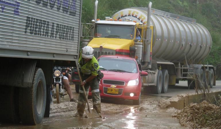 Cierre Via Medellín- La costa: MinTransporte ordena cierre total indefinido del corredor Medellín-La Costa