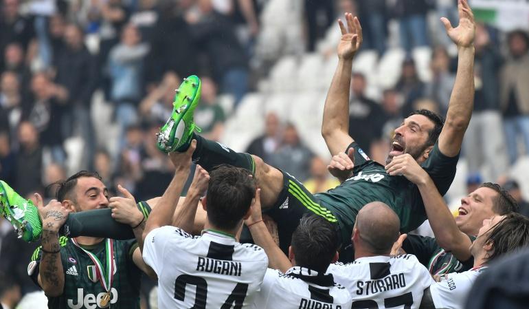 Buffon Juventus Serie A: Buffon se despide de la 'Juve' en el triunfo 2-1 ante el Hellas Verona