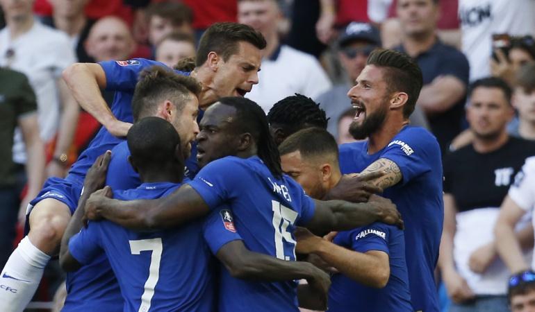 Chelsea FA Cup Manchester United: Chelsea se corona campeón de la FA Cup tras vencer al Manchester United