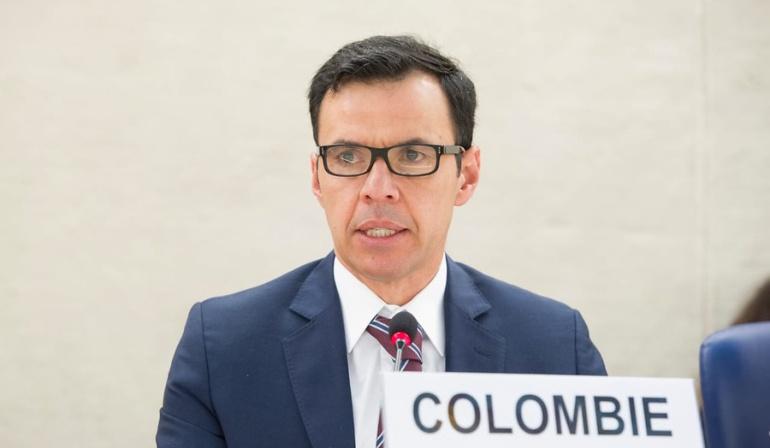 Guillermo Rivera ministro del Interior