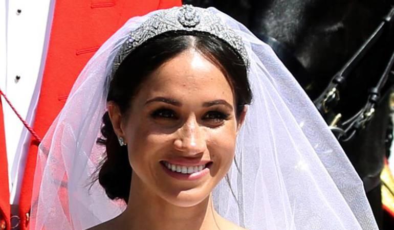 Vestido de novia boda real: Sencillez: la palabra que define el vestido de Meghan Markle en boda real